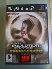 PRO EVOLUTION SOCCER MANAGEMENT  PS2 SIGILLATO ITA