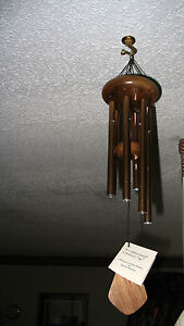 Wind Chimes, Weatherland Chimes, Whisper of the Plains, Hand-Tuned, 18 in. long