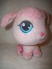 Littlest Pet Shop Pink Poodle Dog Bobbing Head Plush Doll