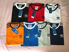 Men's Adidas Originals Retro Crew Neck Short Sleeve T-Shirt (S-XXL)