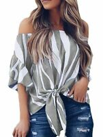 New Pullover Elegant Loose Womens Blouse Floral Solid O Neck Tops V Neck Top