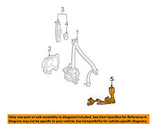 HONDA OEM 02-04 CR-V Front Seat Belt-Buckle Right 04813S9AA03ZA