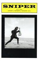 EDDIE VEDDER 2012 SNIPER TOUR CONCERT PROGRAM BOOK BOOKLET-GLEN HANSARD-NM 2 MNT