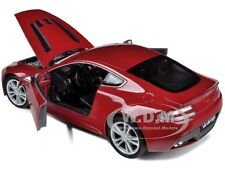 2010 ASTON MARTIN V12 VANTAGE RED 1/24 DIECAST CAR MODEL BY WELLY 24017
