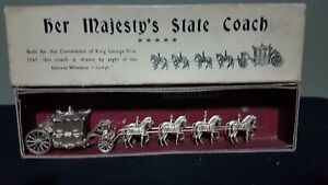 Britain's 44D, Her Majesty's State Coach 1935 rare boxed