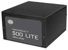 Cooler Master MasterWatt Lite 500W 80Plus White Rated Power Supply PSU