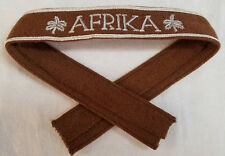 WWI WW2 German Luftwaffe AFRIKA cuff title patch Palm Trees DAK uniform insignia