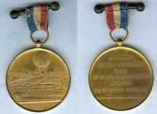 Médaille souvenir - PARIS 1878 ascencion ballon à vapeur Henry GIFFARD d=50,7mm