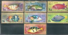 Umm Al Qiwain - Tropical Fish on MNH Stamps..............B 6N26