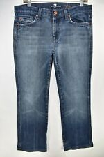 Seven 7 For All Mankind A Pocket Bootcut Womens Size 32 Jeans Meas. 32x30