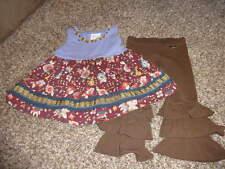MATILDA JANE PAINT BY NUMBER 2 FLORAL BUNNY BIRD DRESS PANT SET