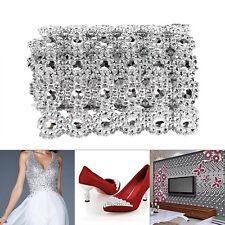 1Yard Rhinestone Diamond Ribbon Mesh Wrap Party Wedding Floral Bling Decoration