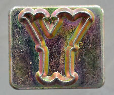 """Leather Tools Tandy  Craftool Alphabet Replacement 3/4 """" letter Y Stamp"""
