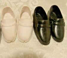 Mattel Ken 2 Pair Of Shoes Black White
