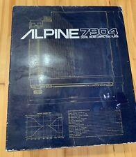 Alpine 7904 NOS