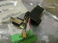 1x RJ45 To RS232 DB9 9 Pin Serial Port Female To RJ45 Ethernet Adapter US SELLER