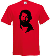 T-shirt uomo con stampa Bud Spencer inspired, Che Guevara style