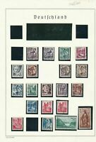 germany 1945/46 used stamps page ref 17683