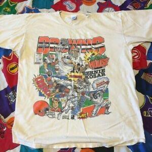 Vintage Cleveland Browns NFL T-Shirt Unisex Cotton Reprint TK2240
