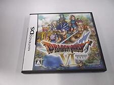 Nintendo DS Dragon Quest VI Maboroshi no Daichi NDS Japan