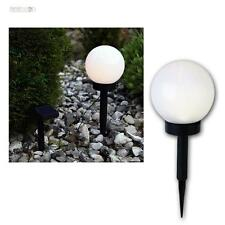 LED Kugelleuchte Ø15cm, Solarlampe Kugellampe Garten Leuchte Lampe Gartenlampe