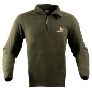 Jack Pyke Pheasant Motif Fleece Pullover