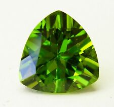 NATURAL UNTREATED 5.60ct!! PERIDOT-  EXPERTLY FACETED IN GERMANY +CERT AVAILABLE