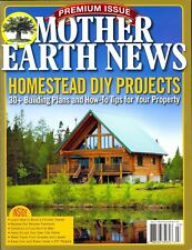 Mother Earth News HOMESTEAD DIY PROJECTS (FALL 2017) NEW - FREE SHIP!!