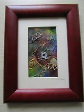 Mixed Media Artwork - Framed, Mounted and Signed - Marian Downing.