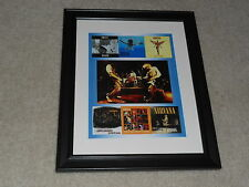 "Framed Nirvana Album Cover Poster, 1989-2009, Bleach, Nevermind,In Utero 14""x17"""