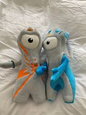 London 2012 Olympic Mascots/Soft toys Mandeville and Wenlock