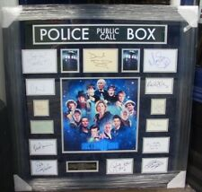 DOCTOR WHO  MULTI SIGNED BY ALL 13 DOCTORS AFTAL