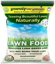 25 lb. Lawn Food Fertilizer Bag Green Grass Organic Natural All-Season Dry Safe