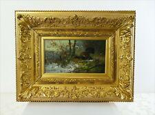 Gemälde: Auerhahn und Hennen im Winterwald, Julius SCHEUERER (1859-1913)   Nr.1