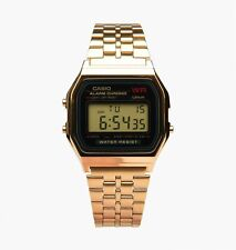Casio A159wgea-1 Mens Gold Tone Stainless Steel Digital Watch Vintage Retro