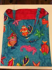 New listing Handmade Reversible Ocean Bag.