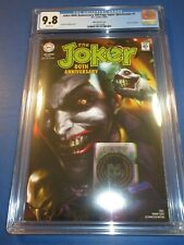 Joker 80th Anniversary Spectacular Mattina Variant CGC 9.8 NM/M Gorgeous