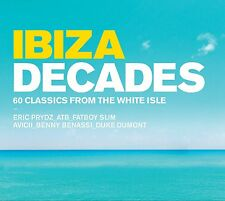 VARIOUS ARTISTS - IBIZA DECADES: 3CD ALBUM SET (June 29th 2015)