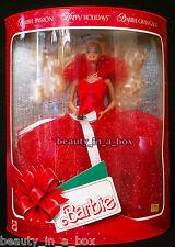 1988 Holiday Happy Holidays Christmas Barbie Doll EU European Passion Gran Gala