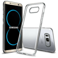 Shockproof 3D Diamond Clear Case Soft Bumper Slim Cover  For Samsung S9 S8 Plus