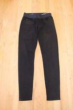 Gap Maternity Black Shiny Legging Jeans Low Panel Size 26/ 2 Regular