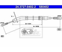 ATE Cable, parking brake 24.3727-0402.2