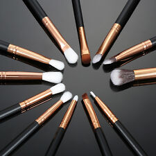 12pcs Professional Kabuki Make up Brush Set Foundation Blusher Eyeshadow Tools