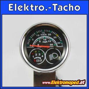 Ersatzteil Elektro-Scooter Elektronischer Tacho 36V km/h und mph Anzeige 5 Pol