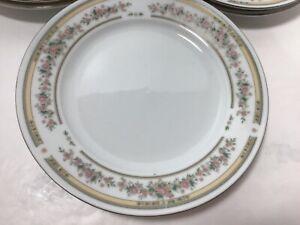 Kentfield & Sawyer Fine Porcelain from China, 6 Dessert Plates. Excellent