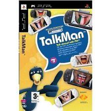 Sony PSP Spiel Talkman inkl. Mikrofon Sprachtraining NEU