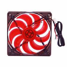 MASSCOOL 120mm Red LED Case Cooling Fan Power Supply fan
