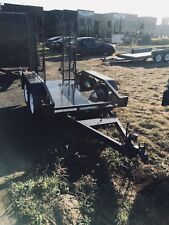 Scissors lift trailer