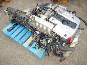 JDM NISSAN SKYLINE R34 NEO RB25DET ENGINE AUTOMATIC TRANSMISSION AWD ECU TURBO