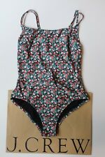 NWT J Crew Strappy One Piece Swimsuit in Liberty Sarah Floral $128 H8969 Sz 6